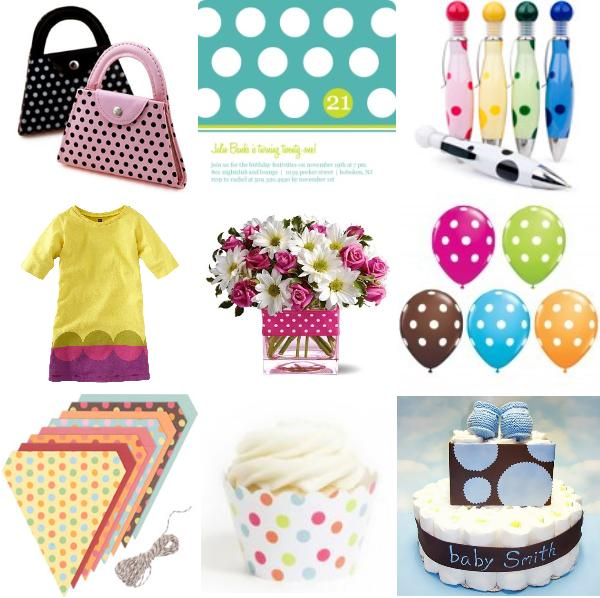 Polka Dot Party Planning Ideas Supplies