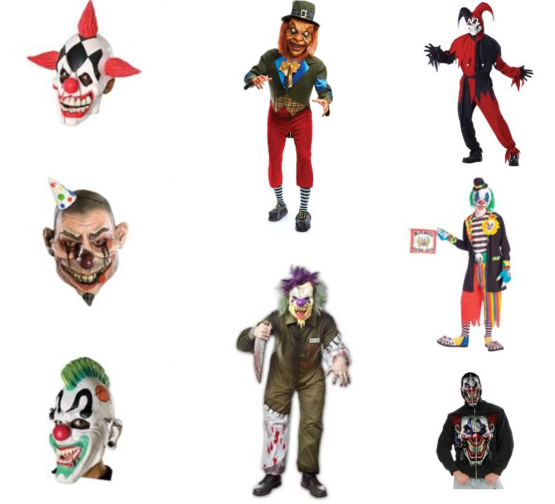 Scariest Clown Costumes