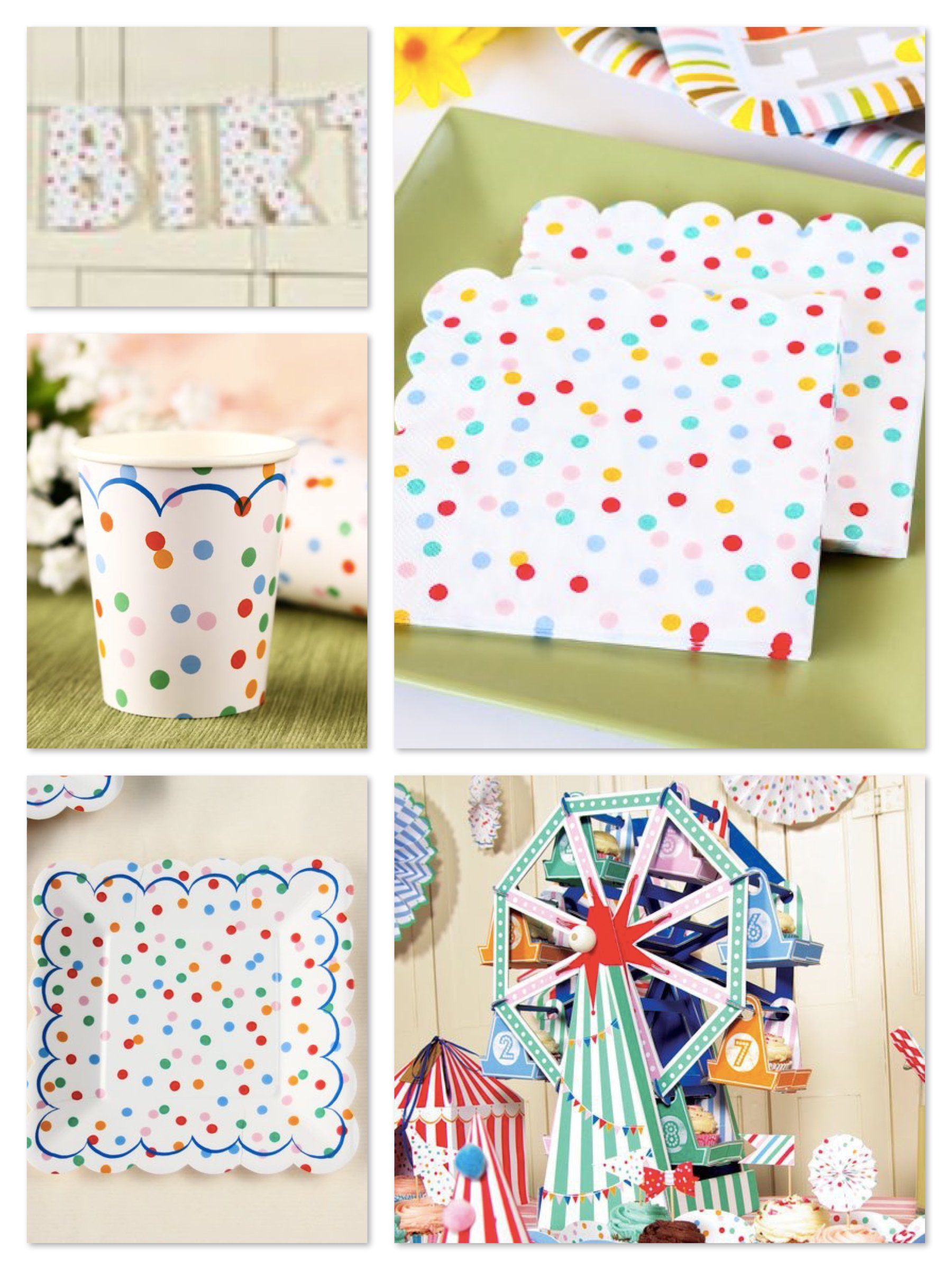 Toot Sweet Spotty Party Supplies