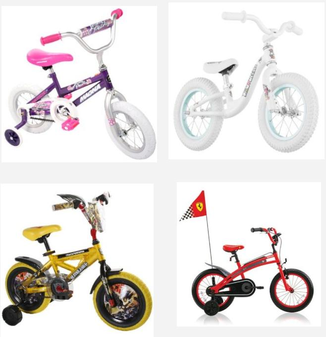 Discounted Children's Bicycles