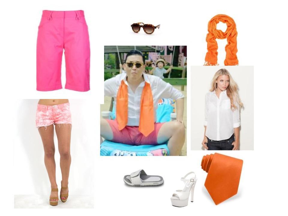 Female Gangnam Style Costume - Psy Poolside