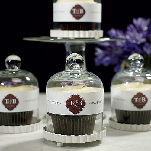 Cheap Chic Holiday Gifts - Cupcakes in a Glass Bell Jar