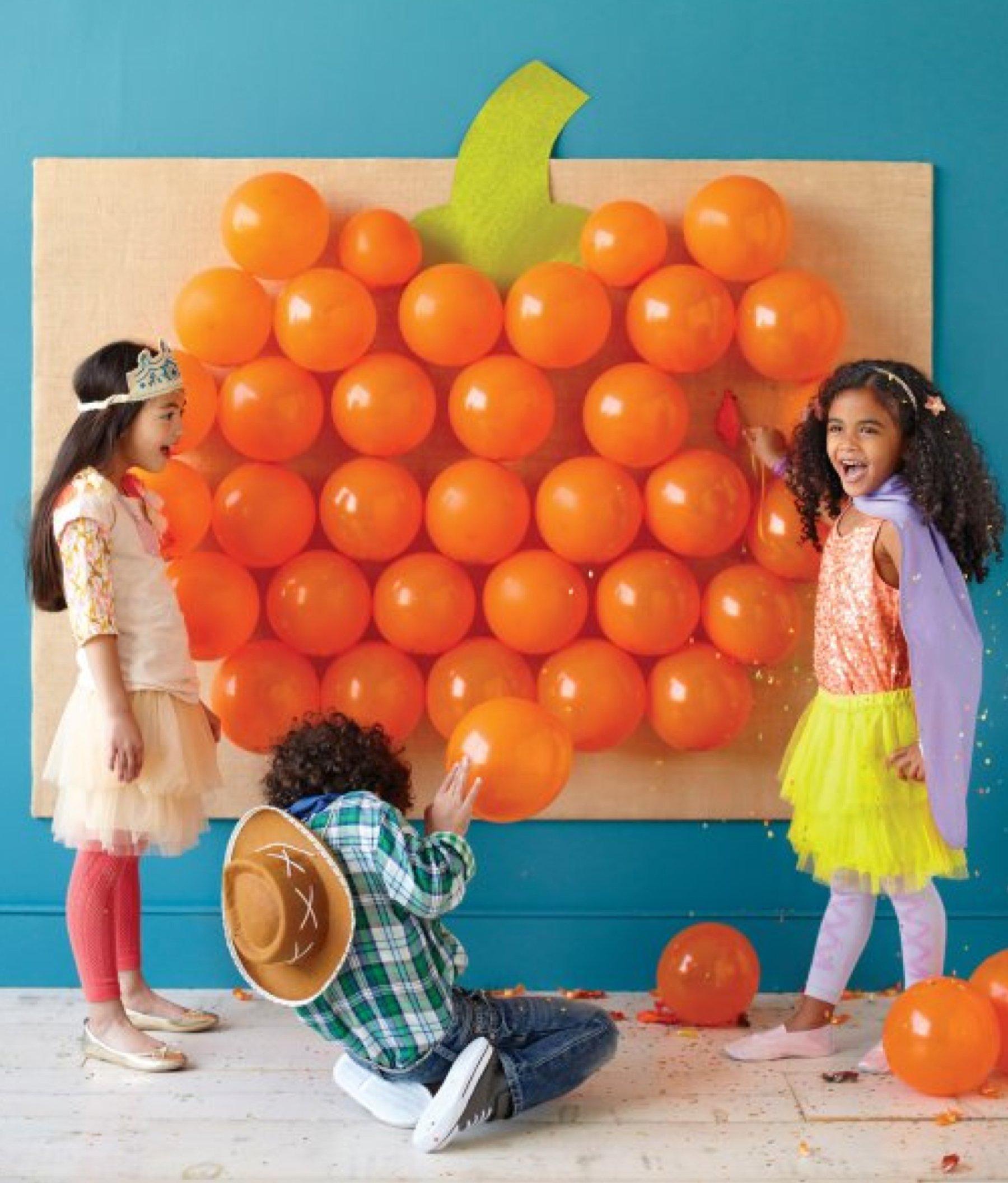 Halloween Games- Pumpkin Balloon Pop