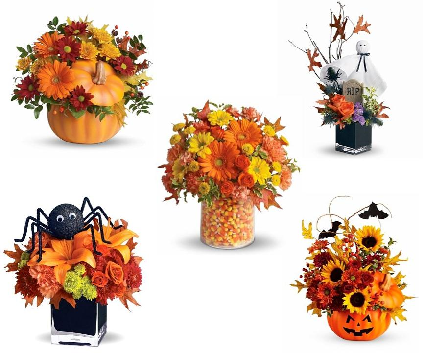 halloween floral centerpieces - Halloween Table Centerpieces