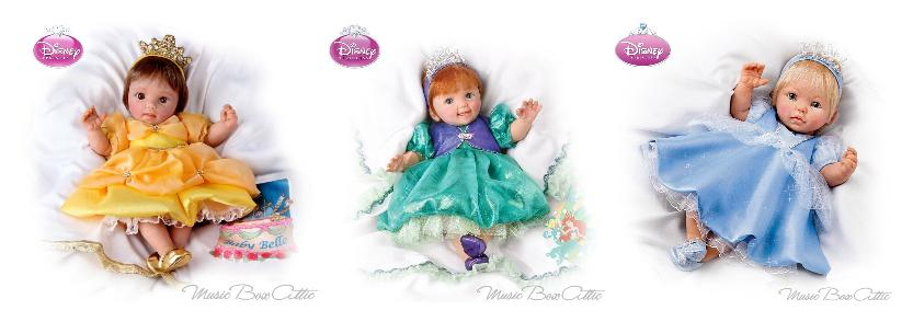 Perfect Grandparent Gift - Adorable Musical Dolls
