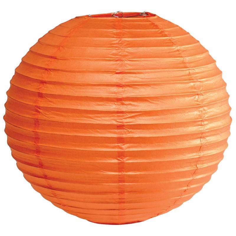 Orange Round Halloween Lantern