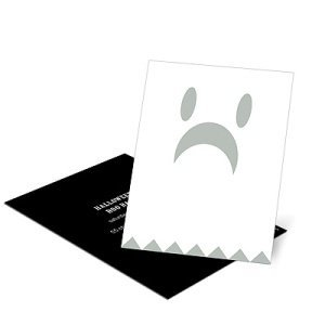 Spooky Ghost – Kids Halloween Invitation