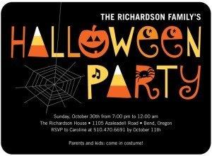 Spooky Soiree Halloween Invite