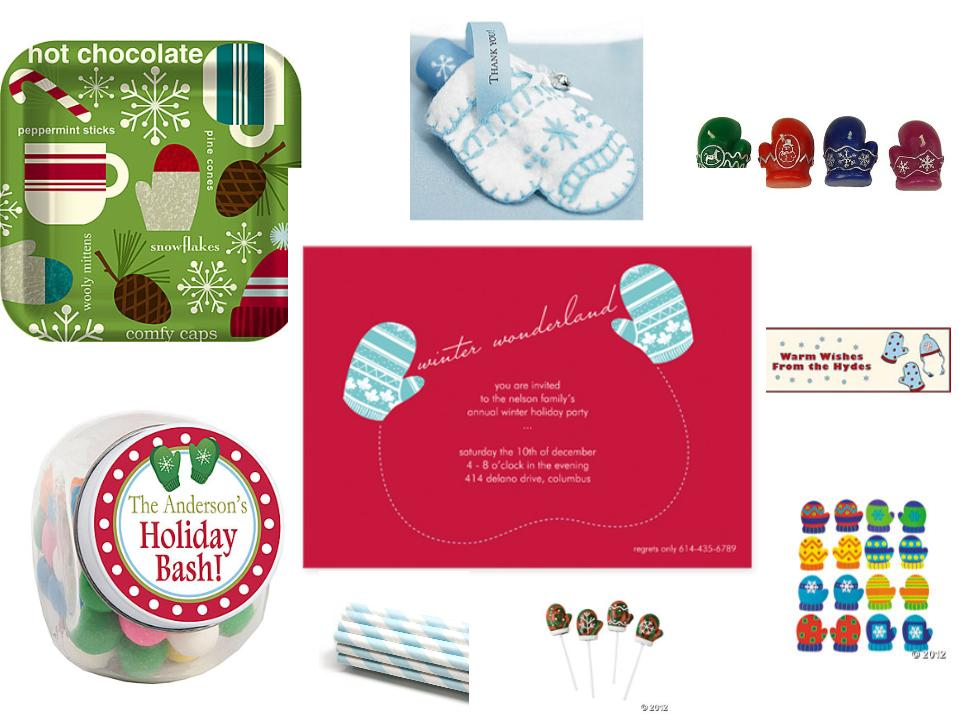 Winter Wonderland Mitten Theme Party Planning, Ideas & Supplies