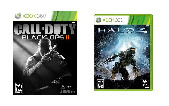 Best Holiday Video Game Gifts - Halo 4 & Call of Duty Black Ops 2