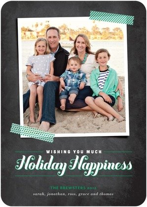 Christmas Cards Wishful Happiness