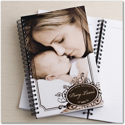Great Gift for New Moms - Beautiful Custom Journals