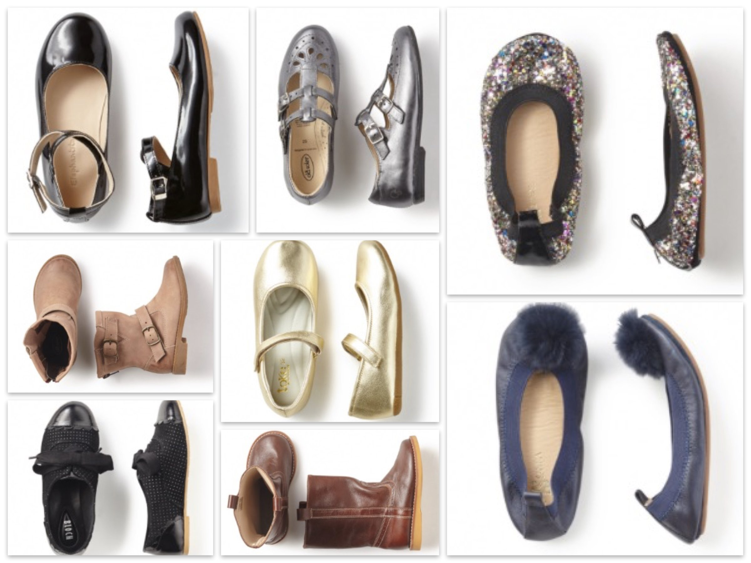 Girls Thanksgiving and Holiday Party Shoes