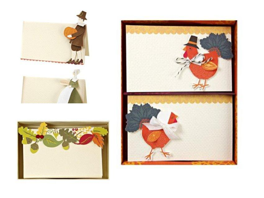 Top 10 Thanksgiving Place Cards Creative Table Settings
