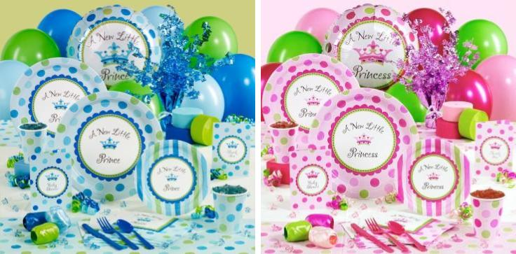 Royal Baby Shower Party Kit