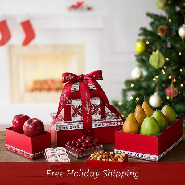The Fruit Company Holiday Gift Tower