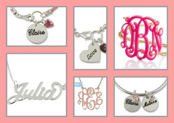 Best Personalized Jewelry for your Valentine!