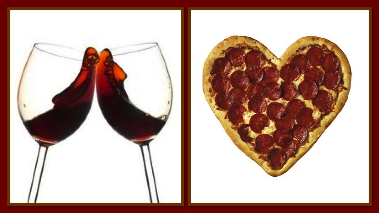 Valentine's Make Your Own Pizza