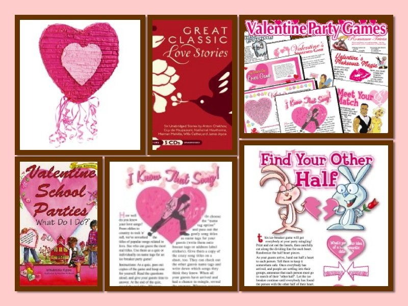 Heart Theme Party Fun and Games, Valentine's Day Heart Theme Party