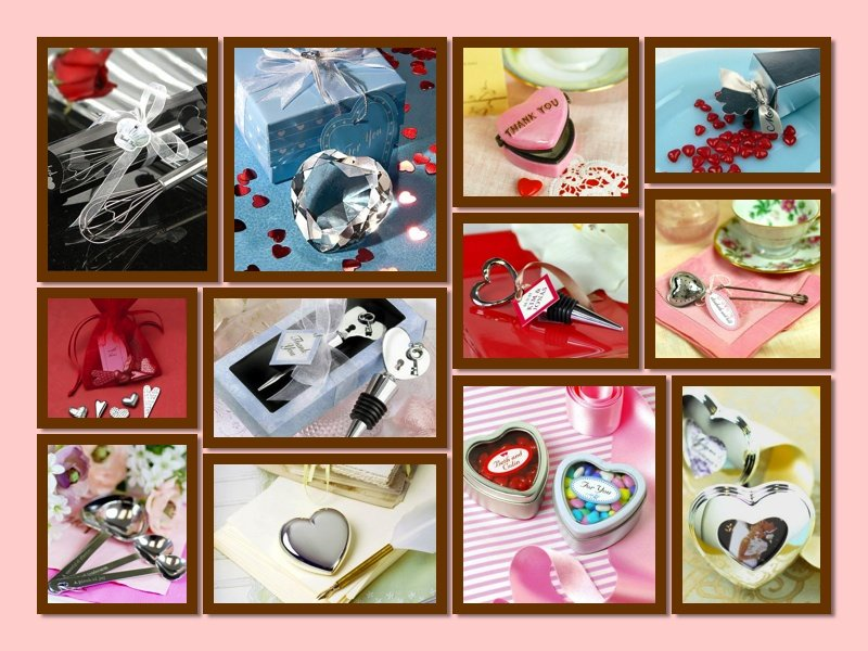 Heart Themed Party Favors and Gifts