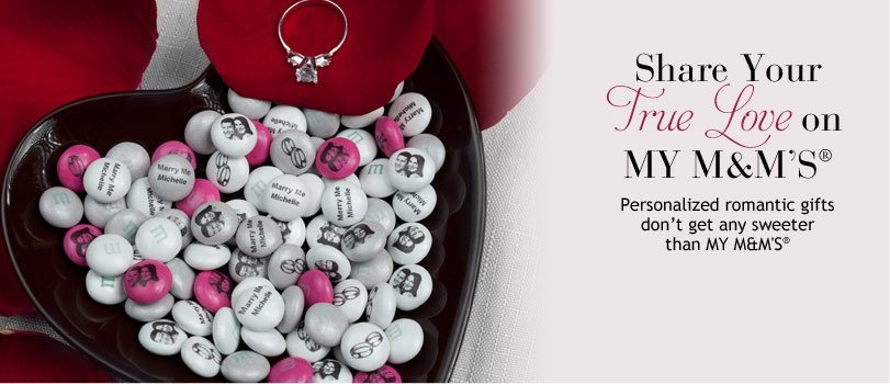 M & M's Romantic Valentine's Day Gifts,