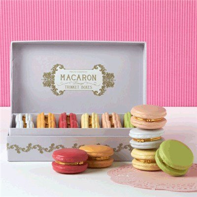 Best Valentine's Day Surprise - Diamonds Hidden in a Macaron Limoge Box!