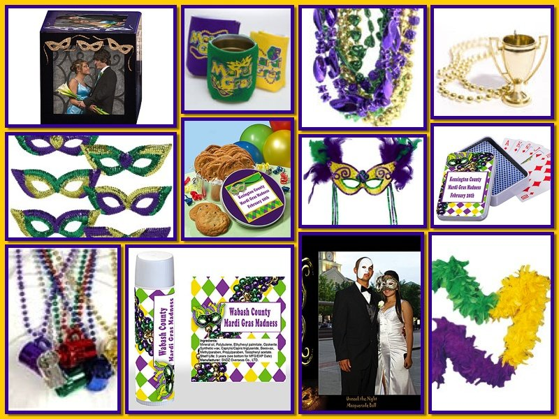 Mardi Gras Party Favors and Gifts