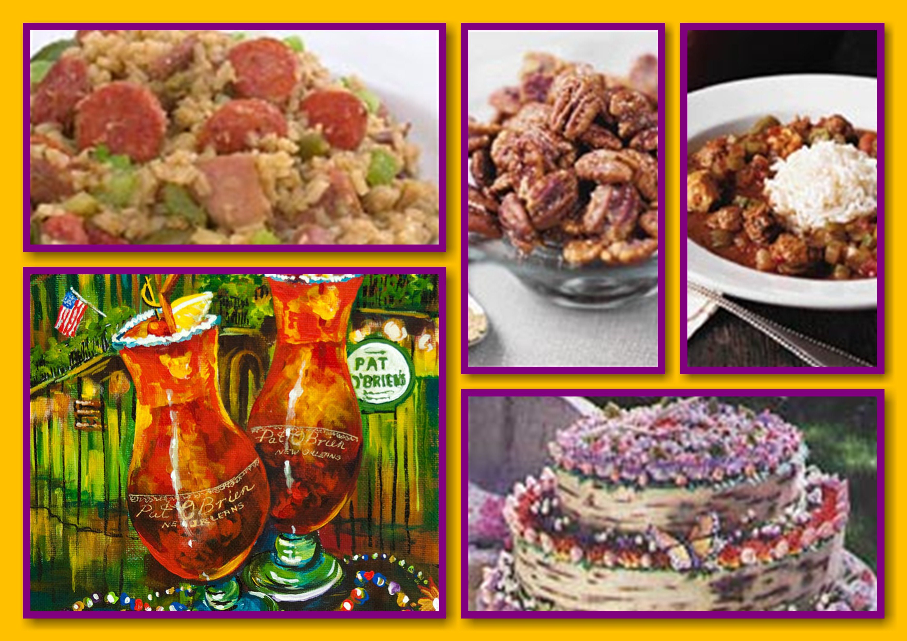 Mardi Gras Food & Drink Recipes