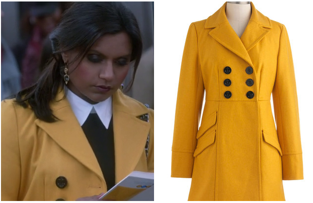 Mindy Project ModCloth Coat