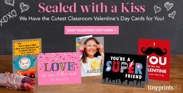 Sealed with a Kiss Valentines Day Cards