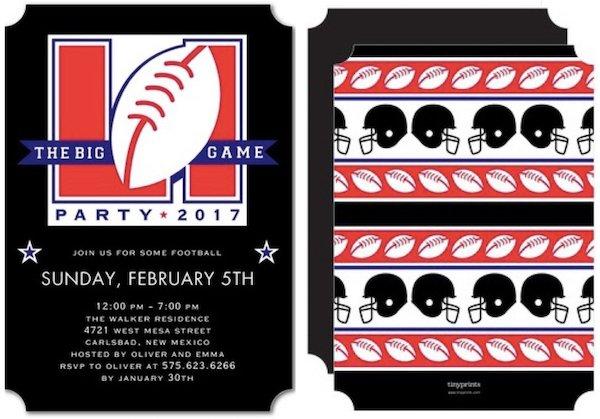 Sunday Funday Football Party Invitations