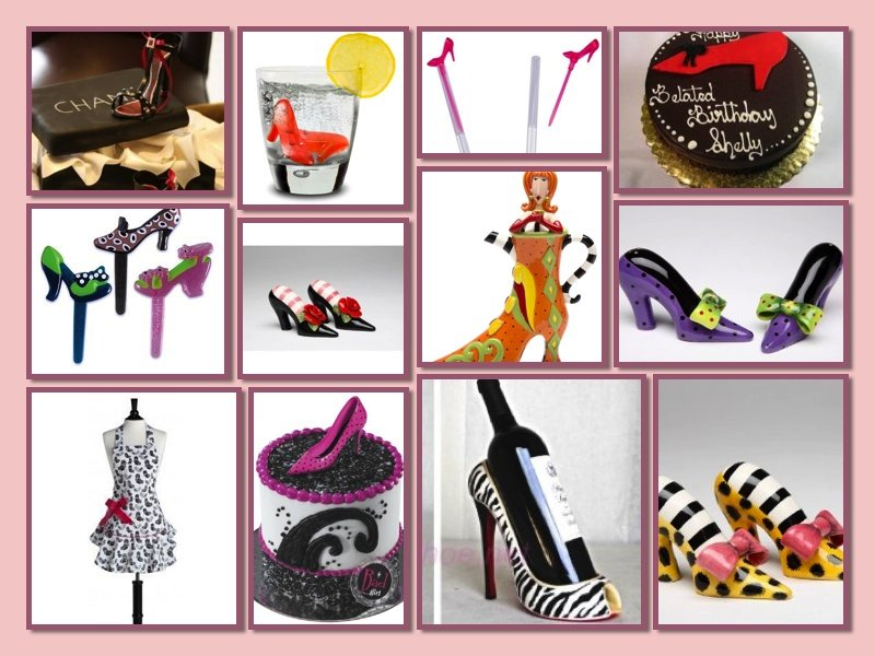 Shoe Theme Party Food & Drink