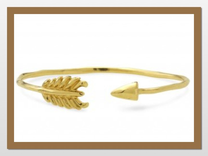 Golden Arrow Bangle