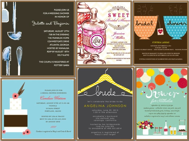 Wedding Shower Invitations- Get Inspired!