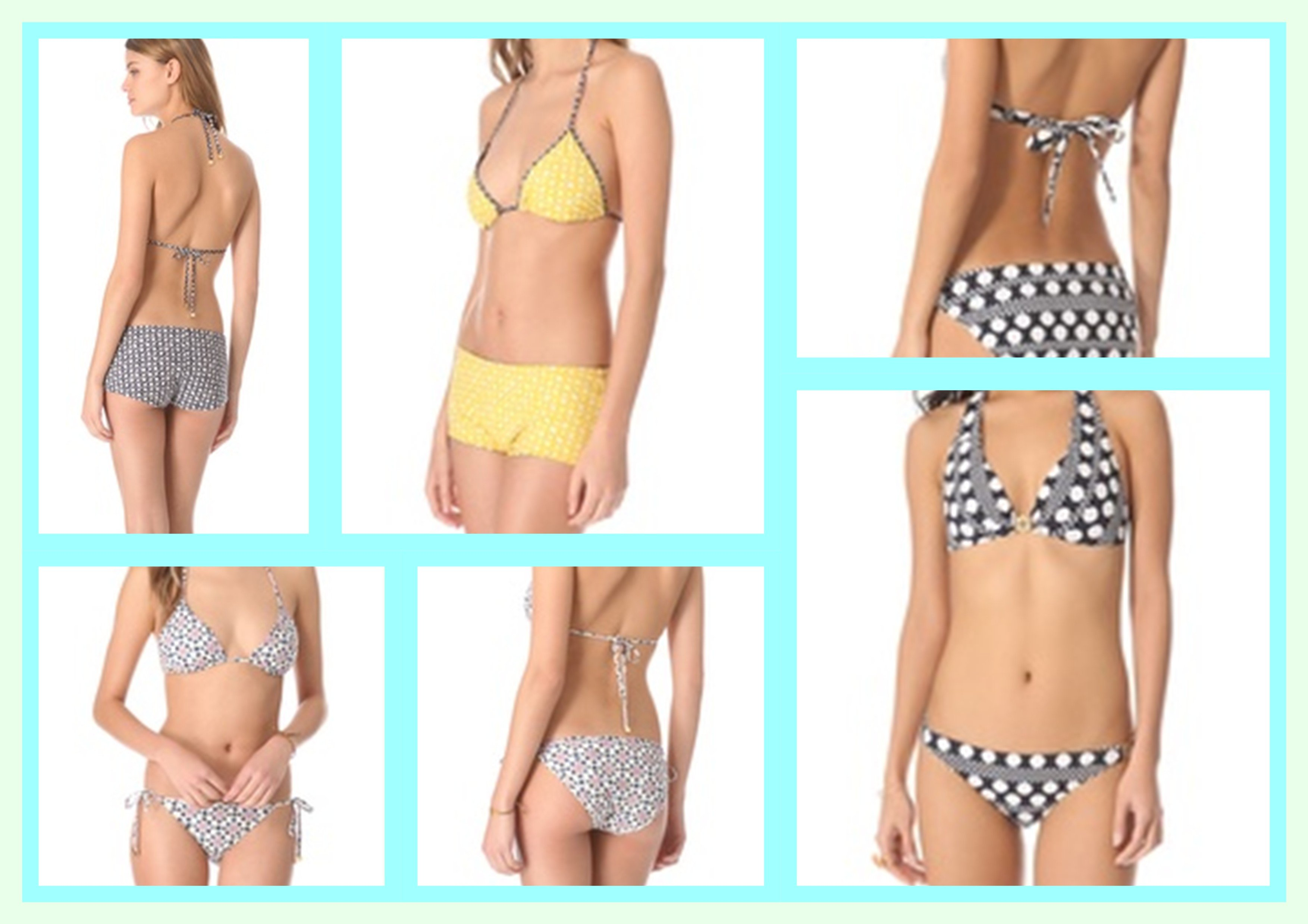 Top 3  Tory Burch Spring Break Bikinis