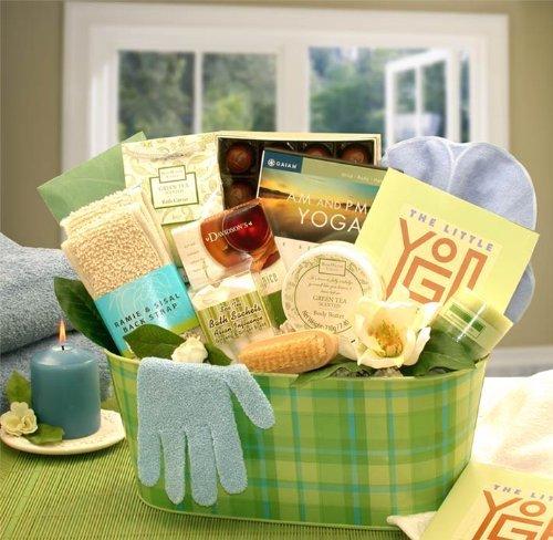 Yoga and Green Tea Essentials Gift Set