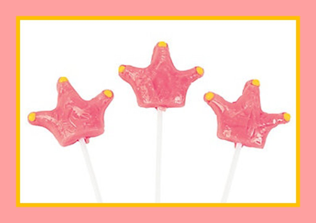 Royal Baby Shower Party Favors - Princess Pops