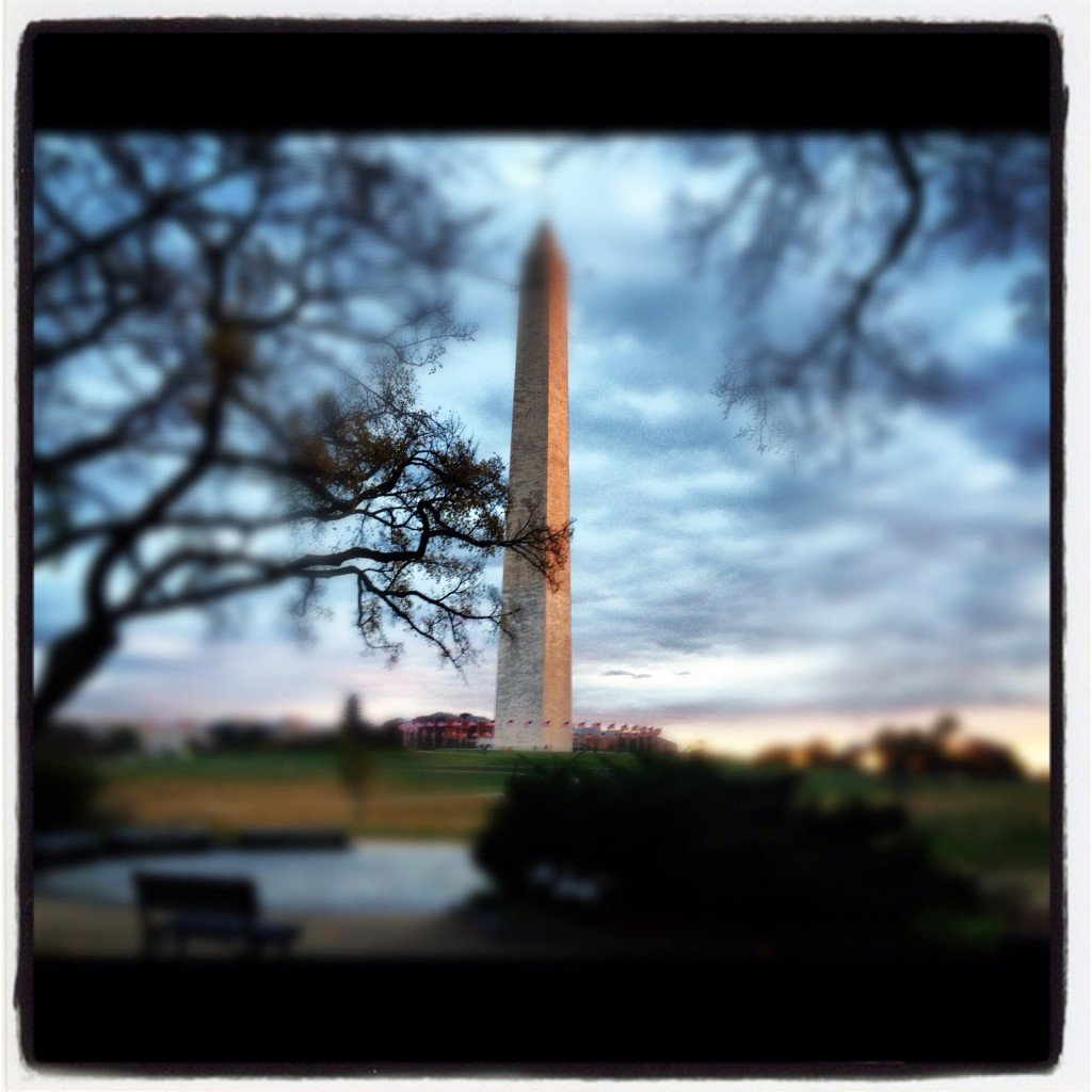 Blurb Photo Book: Washington Monument Photo BooK Cover