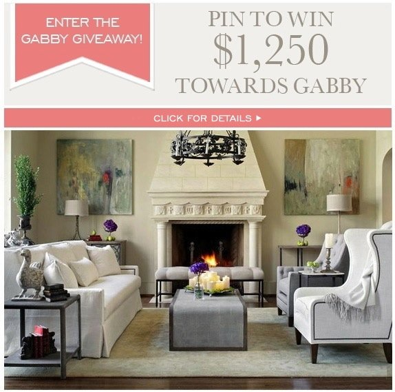 Enter the Gabby Giveaway - Pin to win!