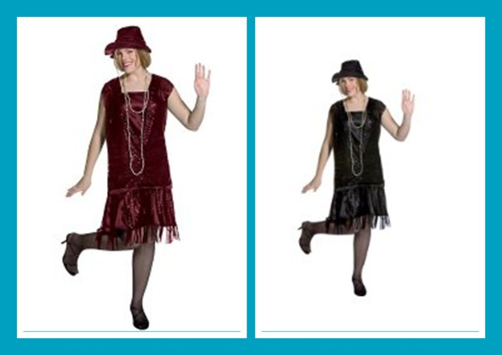 flapper dresses with cap sleeves