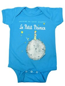 The Little Prince Blue Baby Romper