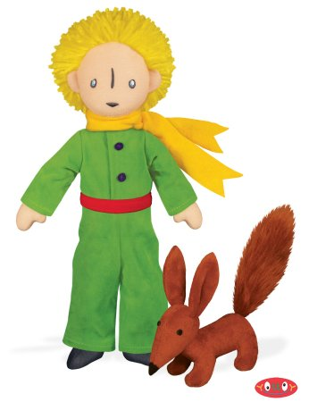 The Little Prince with Fox Plush Doll