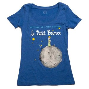 he Little Prince Book Scoop Neck T-Shirt
