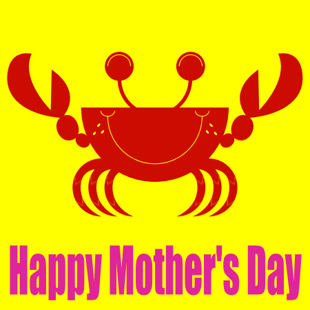 Mothers Day Lobster Dinnerware Removable Decals