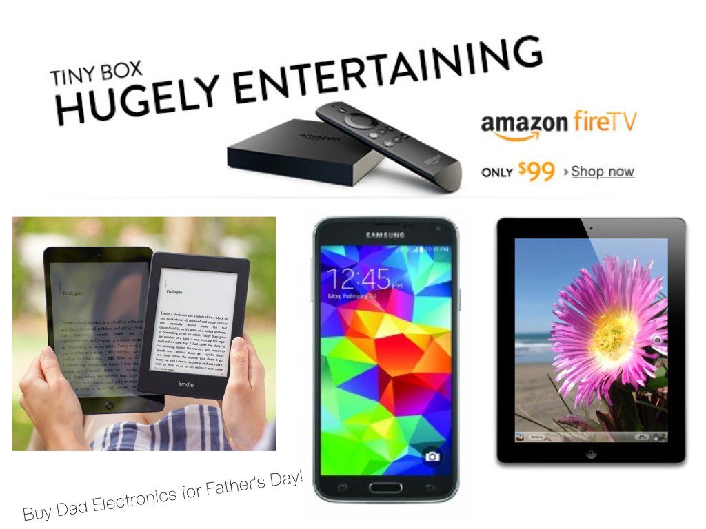 Buy Dad Electronics for Fathers Day!