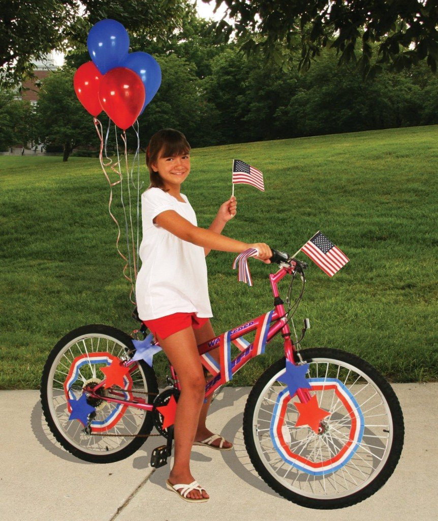 Patriotic Bike Decorating Kit