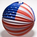 Patriotic Balloon Lantern
