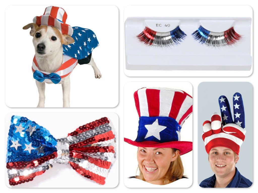 Patriotic July 4th Costumes & Accessories