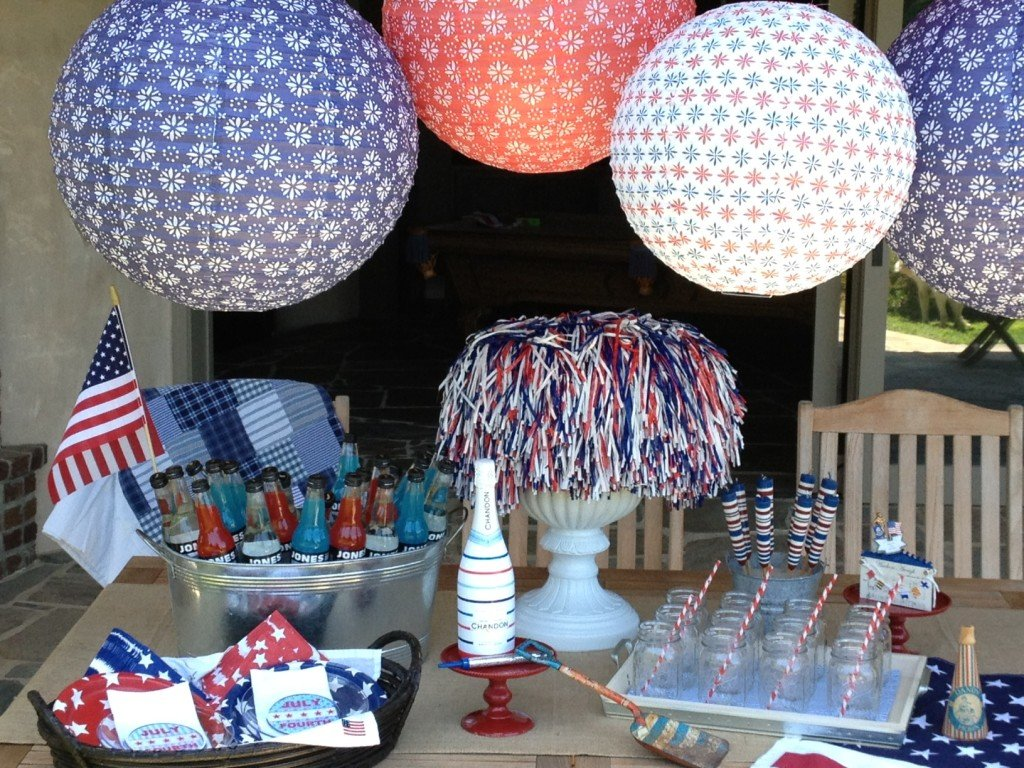 Paper Lanterns for your Patriotic Party!