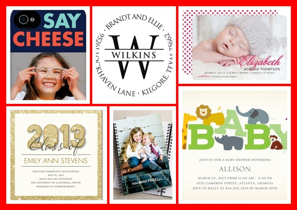 Tiny Prints Sale | Baby Shower Invitations | Birth & Graduation Announcements| Personalized Gifts